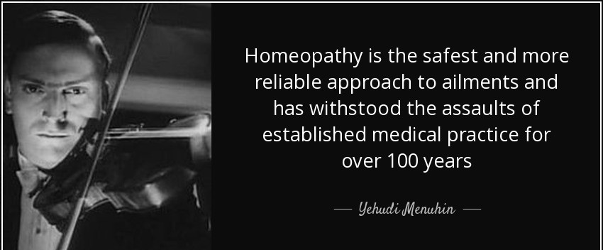WHY HOMEOPATHY