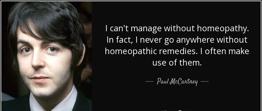 why homeopathy4